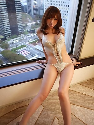 Yuu Tejima Asian has hot ass and big boobs to let you speechless